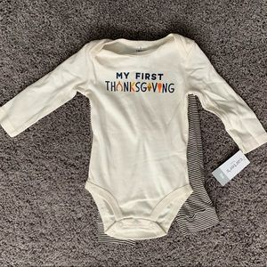 NWT 💙 My First Thanksgiving outfit